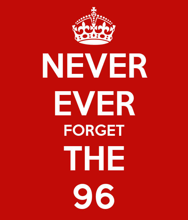NEVER EVER FORGET THE 96