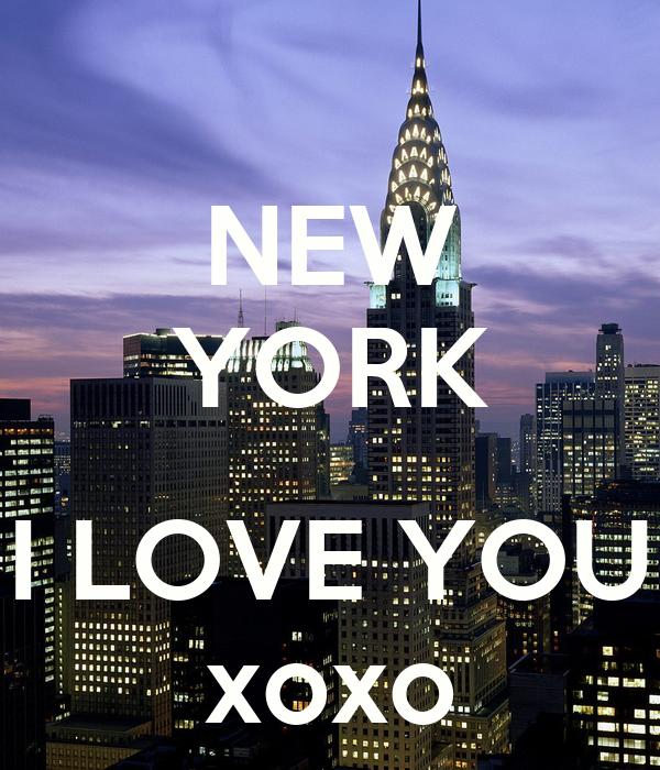 NEW YORK  I LOVE YOU xoxo
