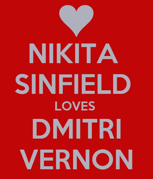NIKITA  SINFIELD  LOVES  DMITRI VERNON
