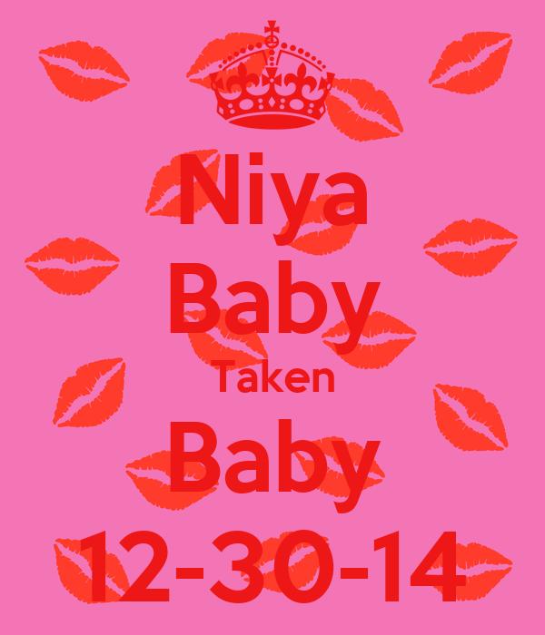 Niya Baby Taken Baby 12-30-14