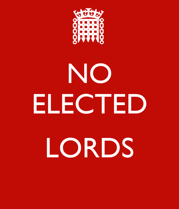 NO ELECTED  LORDS