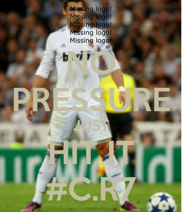 NO PRESSURE JUST HIT IT #C.R7
