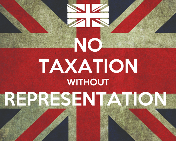 taxation w o representation Many translated example sentences containing taxation without representation – spanish-english dictionary and search engine for spanish translations.