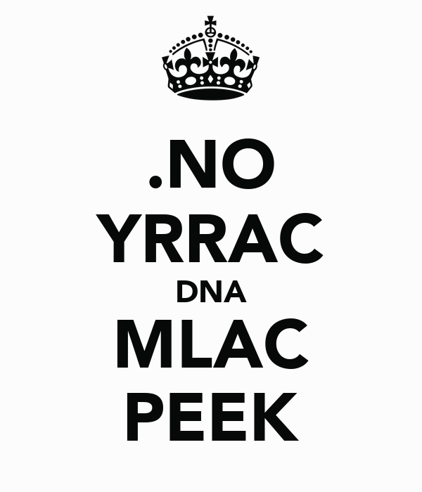 .NO YRRAC DNA MLAC PEEK