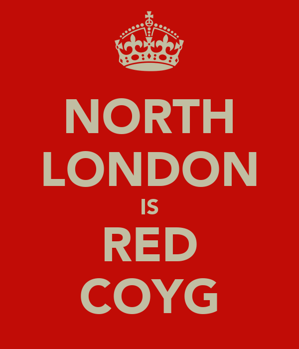 NORTH LONDON IS RED COYG
