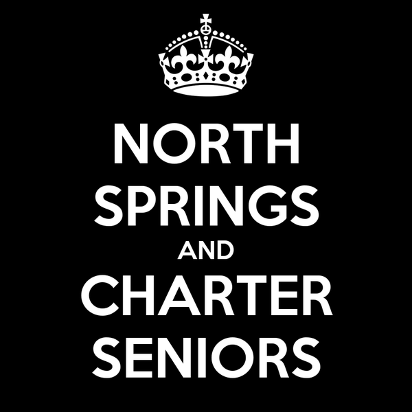 NORTH SPRINGS AND CHARTER SENIORS