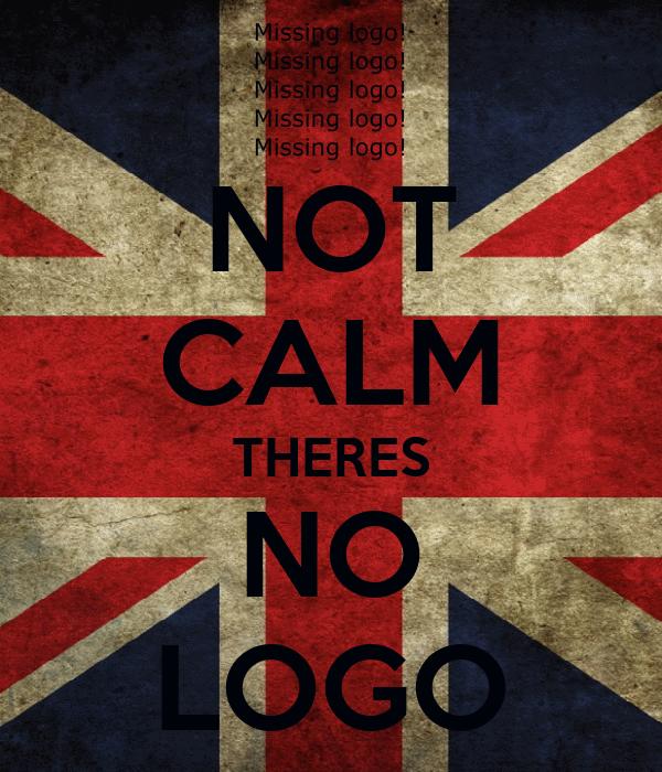 NOT CALM THERES NO LOGO