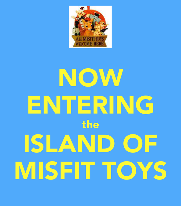 Island Of Misfit Toys For Sale