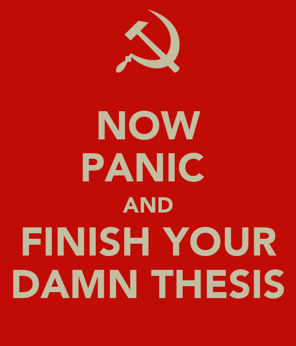 thesis panic