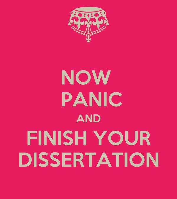 Dissertation now
