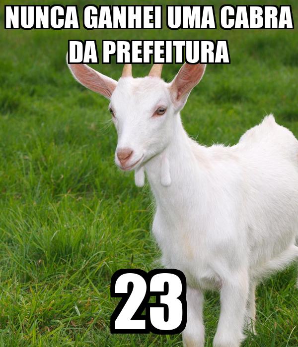 NUNCA GANHEI UMA CABRA DA PREFEITURA 23
