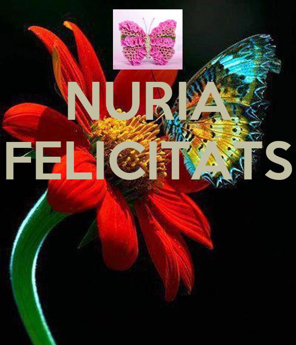 NURIA FELICITATS