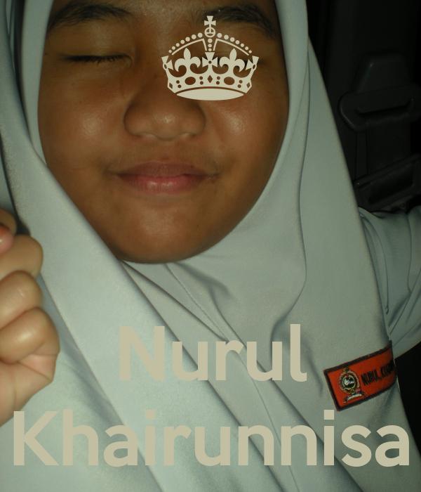 Nurul Khairunnisa