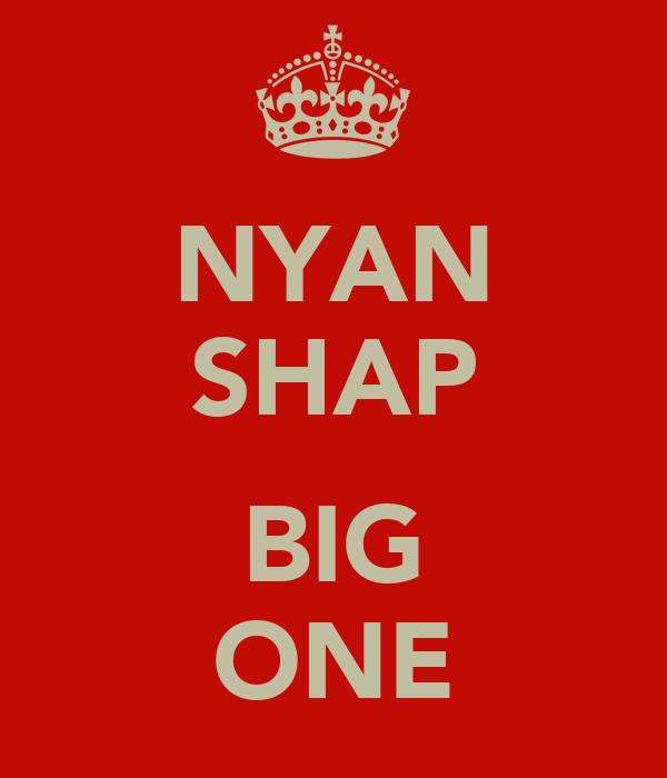 NYAN SHAP  BIG ONE
