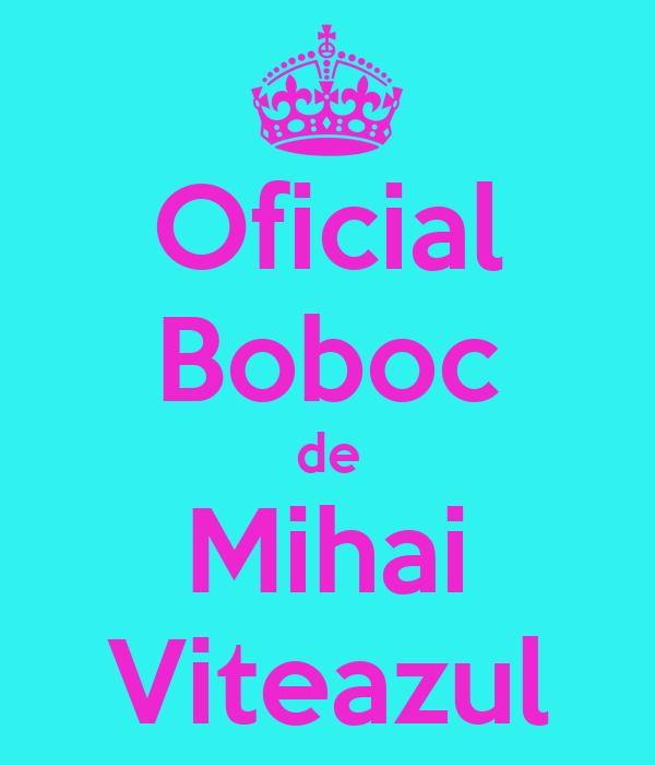 Oficial Boboc de Mihai Viteazul