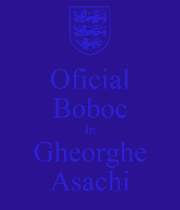Oficial Boboc In Gheorghe Asachi