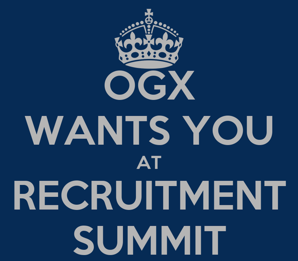 OGX WANTS YOU AT RECRUITMENT SUMMIT