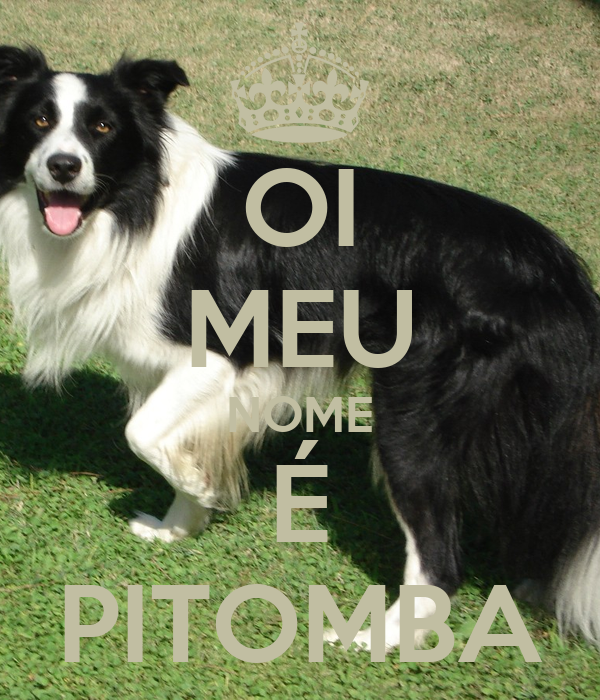 OI MEU NOME É PITOMBA