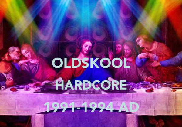 OLDSKOOL HARDCORE 1991-1994 AD