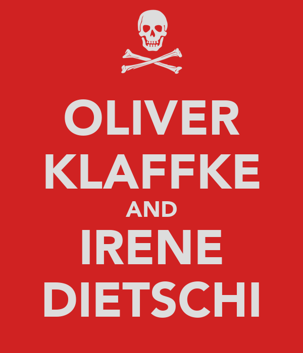 OLIVER KLAFFKE AND IRENE DIETSCHI