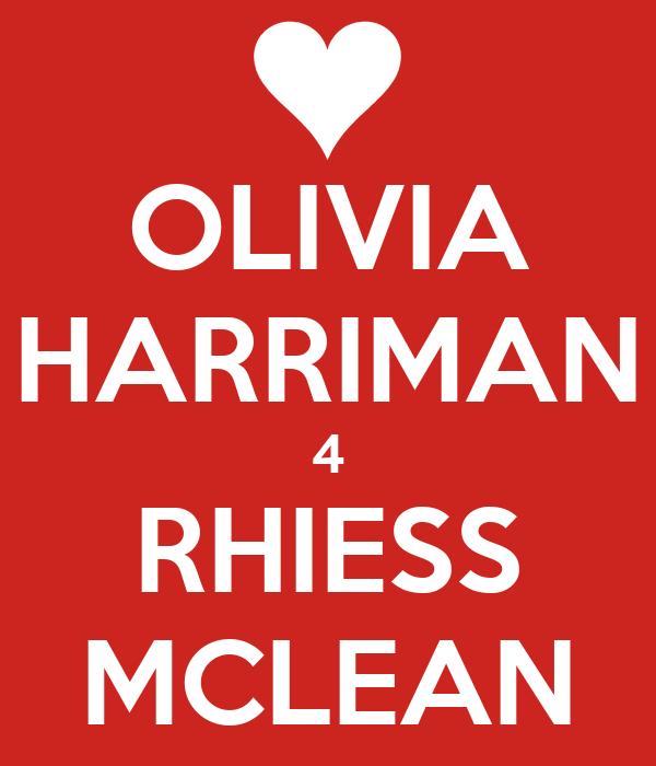 OLIVIA HARRIMAN 4 RHIESS MCLEAN