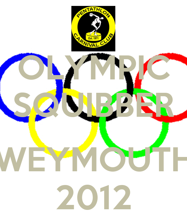 OLYMPIC SQUIBBER  WEYMOUTH 2012