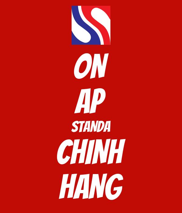 ON AP STANDA CHINH HANG