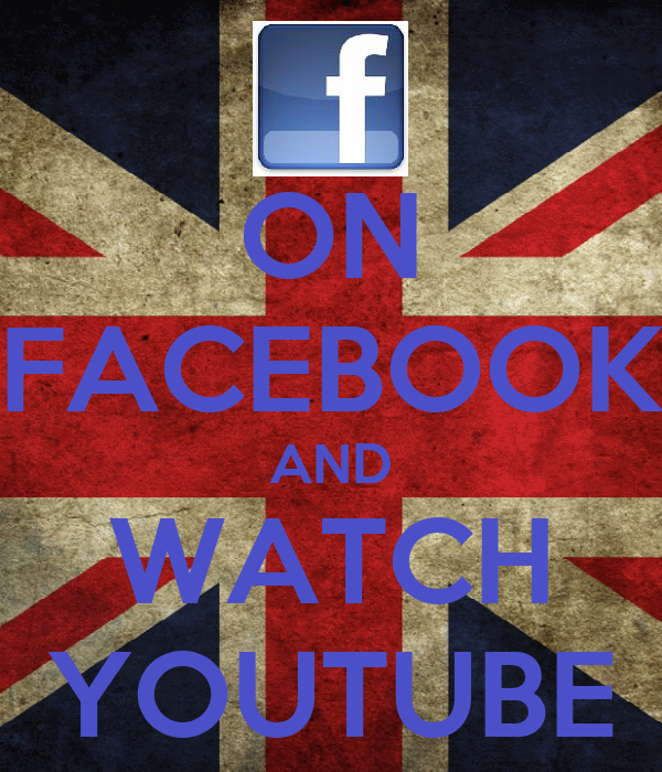 ON FACEBOOK AND WATCH YOUTUBE