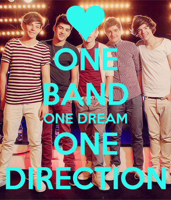 ONE BAND ONE DREAM ONE DIRECTION