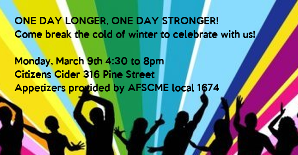 ONE DAY LONGER, ONE DAY STRONGER! 