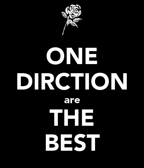 ONE DIRCTION are THE BEST