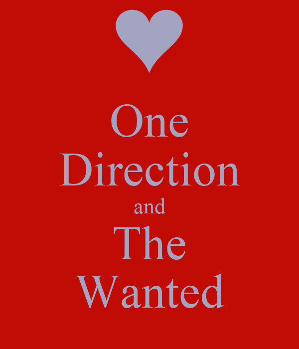 One Direction and The Wanted