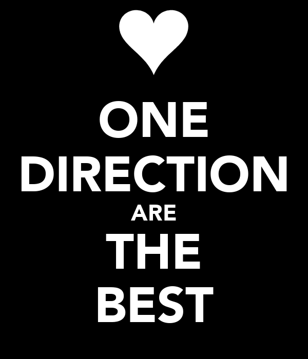ONE DIRECTION ARE THE BEST