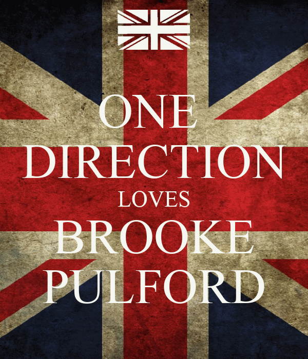 ONE  DIRECTION LOVES BROOKE PULFORD