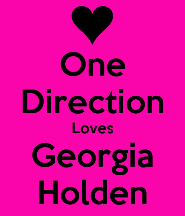 One Direction Loves Georgia Holden