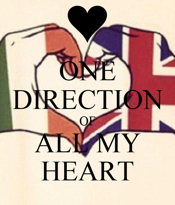 ONE DIRECTION OF ALL MY HEART