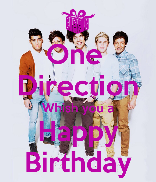 One Direction Whish You A Happy Birthday