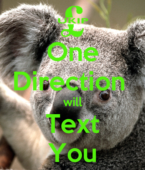 One Direction  will Text You