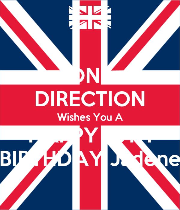 ONE DIRECTION Wishes You A HAPPY 13TH BIRTHDAY Jadene