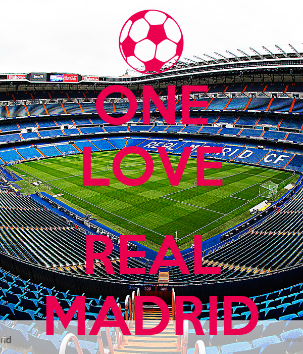 ONE LOVE  REAL MADRID