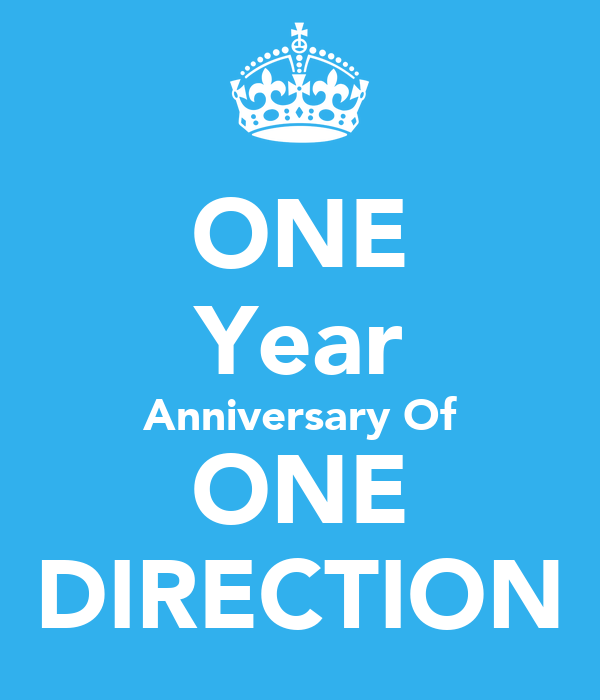 ONE Year Anniversary Of ONE DIRECTION