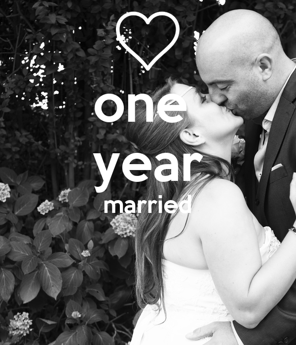 one  year married