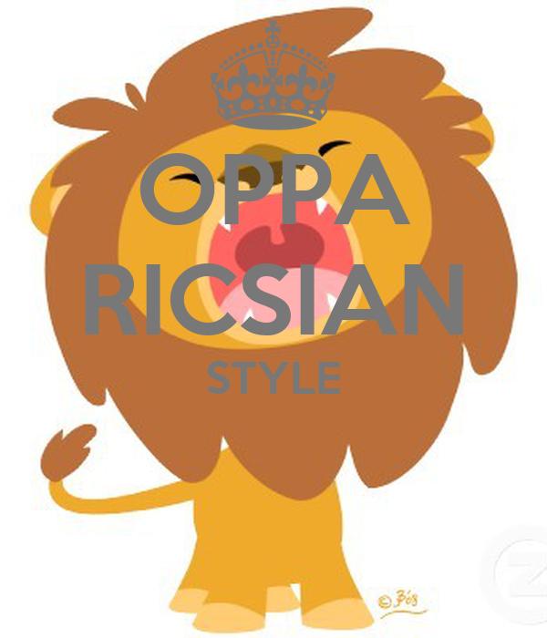 OPPA RICSIAN STYLE