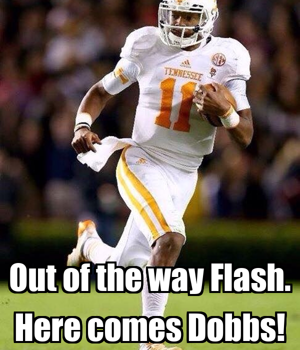 Out of the way Flash. Here comes Dobbs!