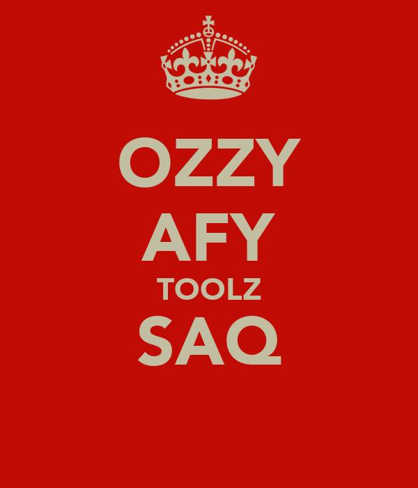OZZY AFY TOOLZ SAQ