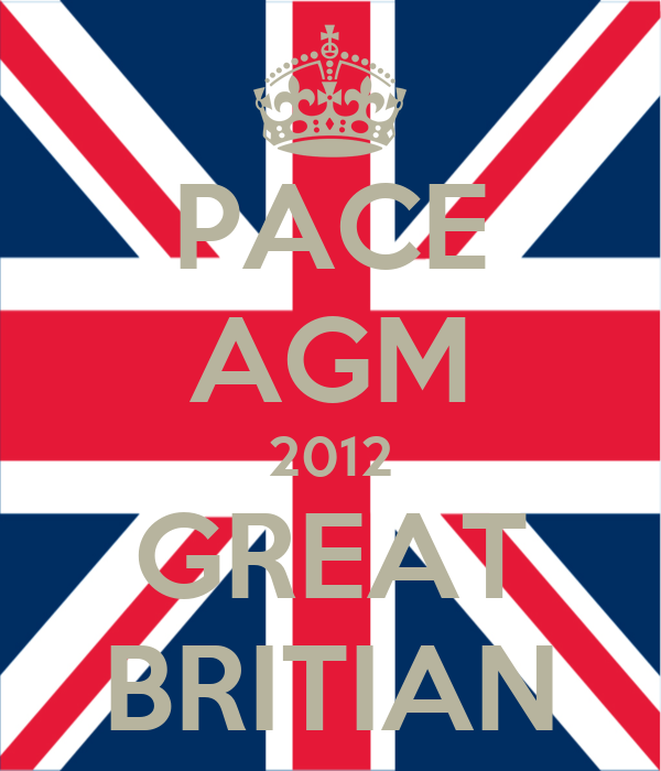 PACE AGM 2012 GREAT BRITIAN