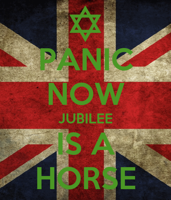 PANIC NOW JUBILEE IS A HORSE