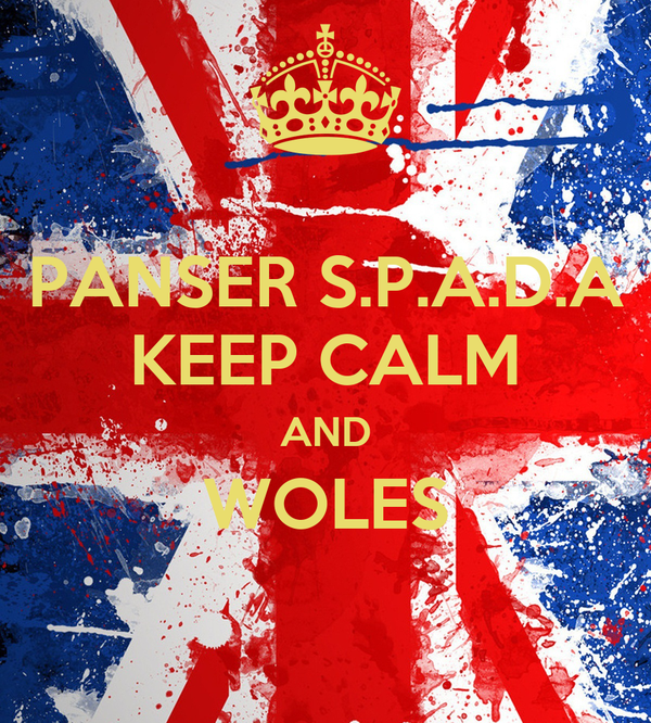 PANSER S.P.A.D.A KEEP CALM AND WOLES