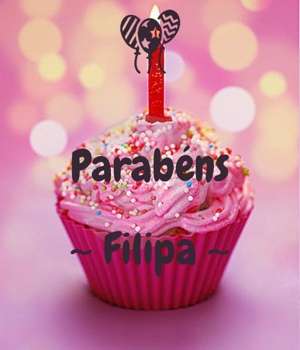 Parabéns  ~ Filipa ~