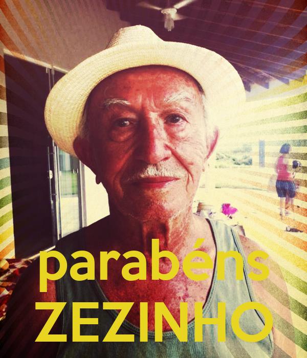 parabéns ZEZINHO